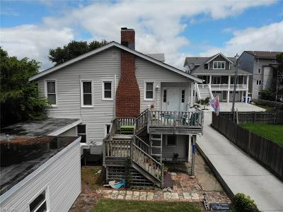 Norfolk Multi Family Home New Listing: 1338 Ocean View Ave W