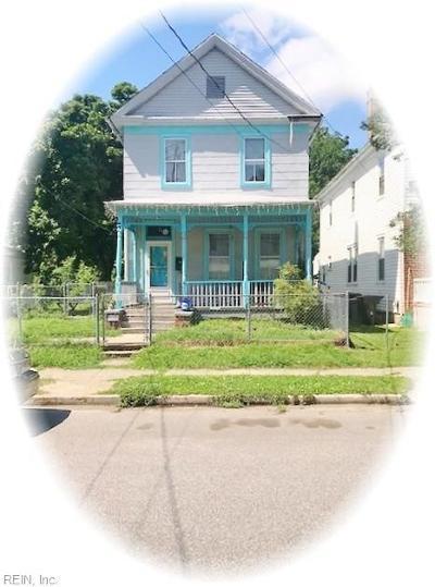 Hampton VA Residential New Listing: $65,000