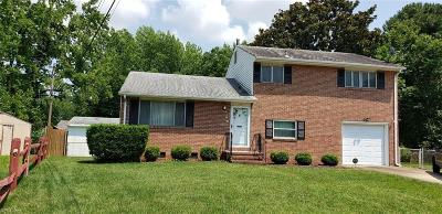 Hampton VA Residential New Listing: $190,500