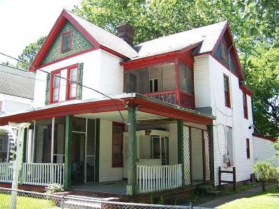 Newport News Multi Family Home For Sale: 1149 Hampton Ave