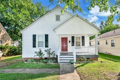 Hampton VA Residential New Listing: $126,900