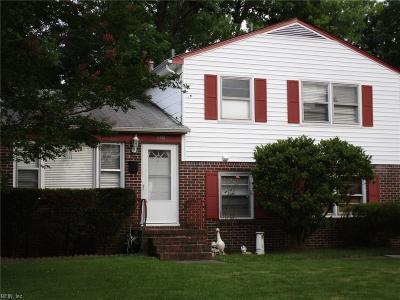 Hampton VA Residential Under Contract: $180,000