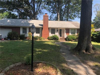 Hampton VA Residential New Listing: $180,000