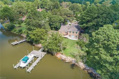 Norfolk Residential For Sale: 701 Elizabeth River Cir