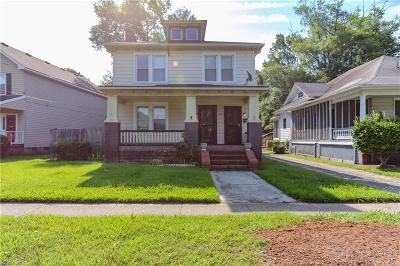 Norfolk Multi Family Home Under Contract: 1615 Lafayette Blvd