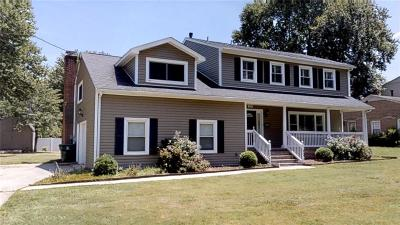 Newport News Residential For Sale: 188 Cabell Dr