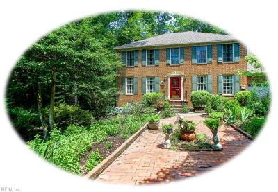 Williamsburg Residential For Sale: 102 Saint Johns Ct
