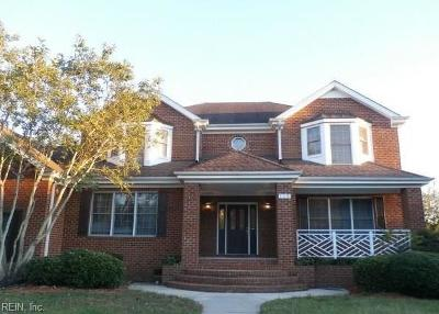Suffolk Residential Under Contract: 115 Nansemond Pointe Dr