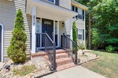 Newport News Residential For Sale: 218 Amesbury Ln