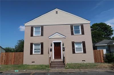 Portsmouth Multi Family Home Under Contract: 2513 Chestnut St