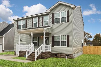 Portsmouth Residential For Sale: 2501 Effingham St