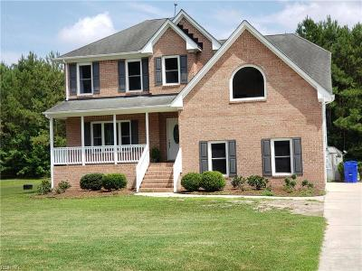 Suffolk Residential For Sale: 3650 Nansemond Pw
