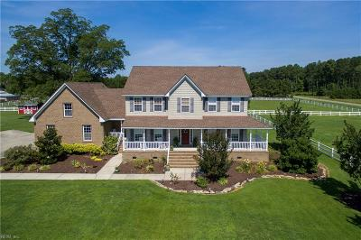Chesapeake Residential New Listing: 3848 Bunch Walnuts Rd
