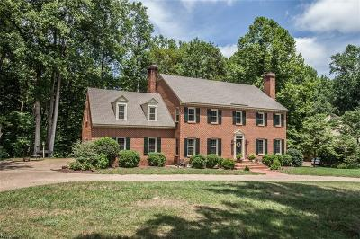 Williamsburg Residential New Listing: 9 Whittakers Mill Rd