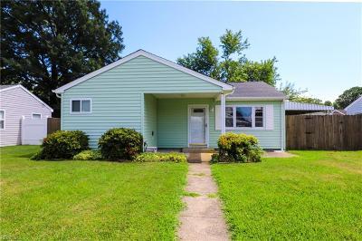 Hampton VA Residential New Listing: $135,000