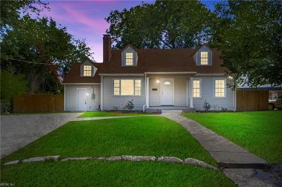 Norfolk Residential New Listing: 413 Delaware Ave