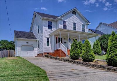 Norfolk Residential New Listing: 9631 Grove Ave