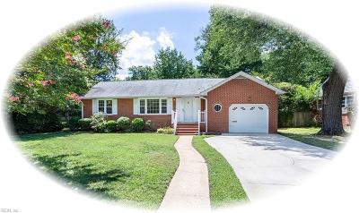 Newport News Residential New Listing: 1207 Tyler Ave