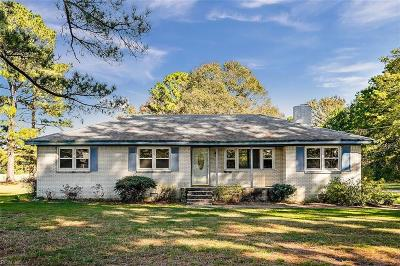 Chesapeake Residential New Listing: 1721 Battlefield Blvd S