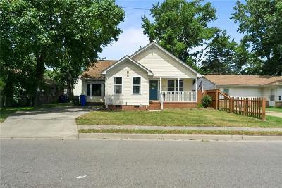 Norfolk Residential New Listing: 9507 Chesapeake St