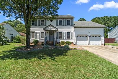 Chesapeake Residential New Listing: 1020 Windswept Cir