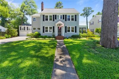 Norfolk Residential New Listing: 1419 Monterey Ave