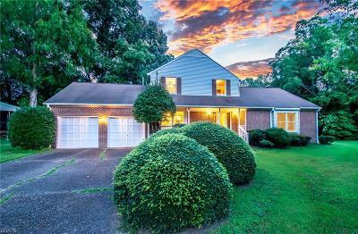 Newport News Residential New Listing: 74 Park Hill Cir