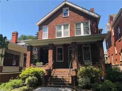 Norfolk Multi Family Home New Listing: 704 Maury Ave