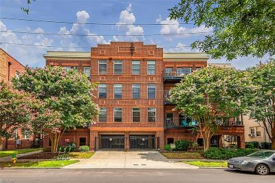Ghent Residential New Listing: 810 W Princess Anne Rd #201