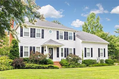 Chesapeake Residential New Listing: 531 Queenswood Ter