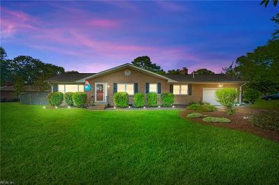 Virginia Beach Residential New Listing: 2308 Plantation Dr
