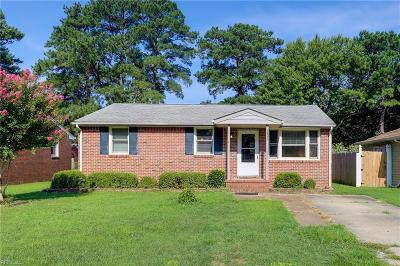 Chesapeake Residential New Listing: 1421 Myrtle Ave
