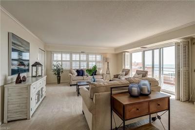 Virginia Beach Residential New Listing: 3810 Atlantic Ave #601