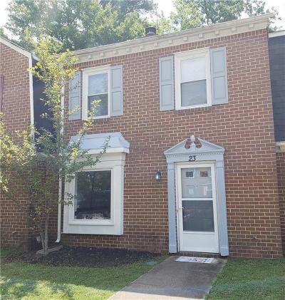 Chesapeake Residential New Listing: 23 Colonial Way
