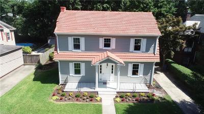 Norfolk Residential For Sale: 1510 Bolling Ave