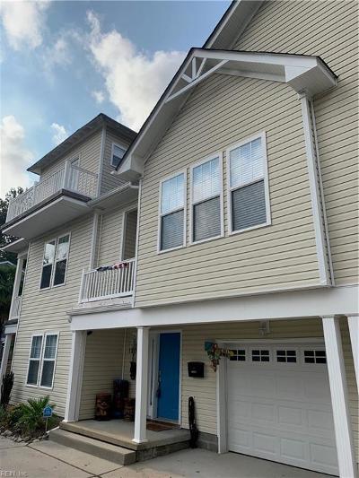 Virginia Beach Residential New Listing: 1204 Cypress Ave #B