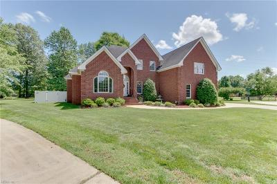 Chesapeake Residential New Listing: 605 Oxbow Ct