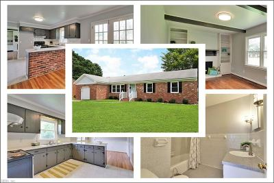 Newport News Residential New Listing: 512 Spinnaker Rd