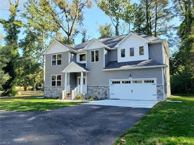 Virginia Beach Residential New Listing: 1642 Jack Frost Rd