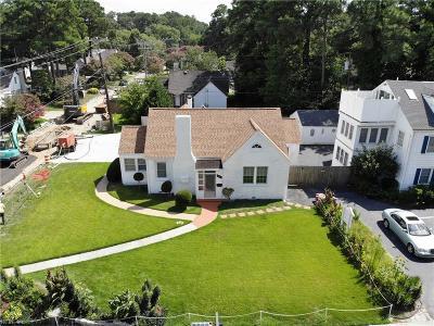 Norfolk Residential New Listing: 201 W Little Creek Rd