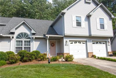 Chesapeake Residential New Listing: 1317 Eagles Trace Path #D