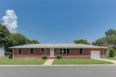 Hampton VA Residential New Listing: $219,000