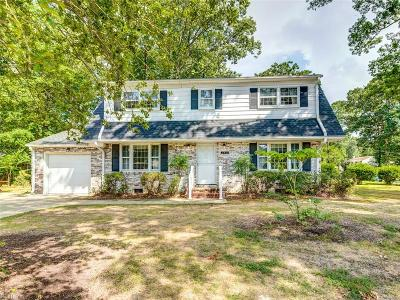 Newport News Residential New Listing: 140 Beechmont Dr