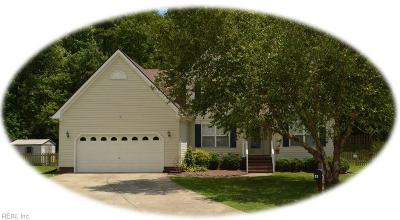 Williamsburg Residential New Listing: 5124 E Grace Ct