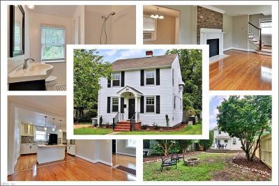 Hampton VA Residential New Listing: $175,000