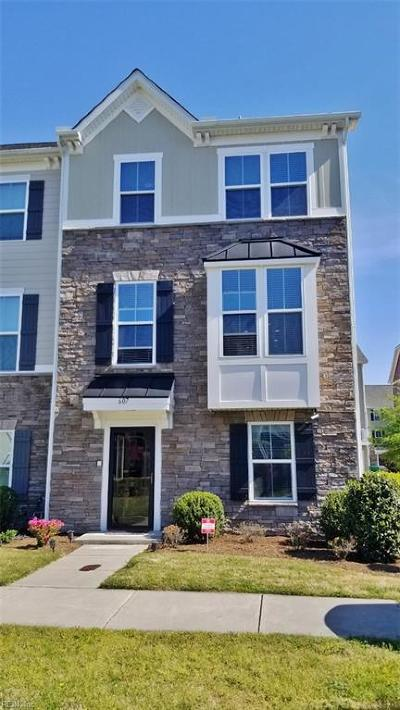 Chesapeake Residential New Listing: 607 Gendron St