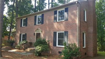 Newport News Residential New Listing: 34 Laurel Wood Rd