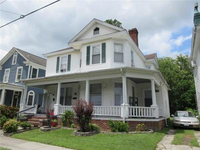 Suffolk Multi Family Home Under Contract: 113 Saint James Ave