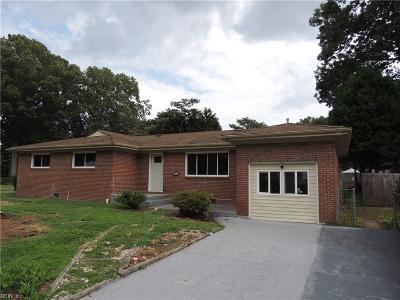 Virginia Beach Residential New Listing: 344 Lavender Ln