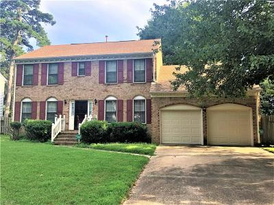 Virginia Beach Residential New Listing: 5585 E Worcester Dr